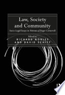 Law, Society and Community