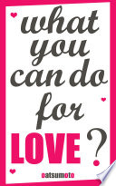 Love dare  What you can do for love