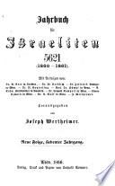 Kalender und Jahrbuch für Israeliten, auf das Jahr ...
