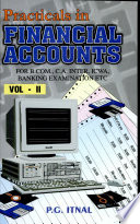 Practicals In Financial Accounts