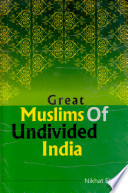 Great Muslims of undivided India
