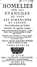 Homélies, tome I et II