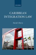 Caribbean Integration Law