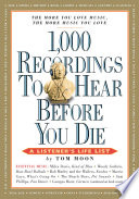 1 000 Recordings to Hear Before You Die
