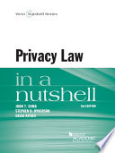 Privacy Law in a Nutshell  2d