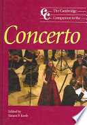 The Cambridge Companion to the Concerto Genre Of The Concerto