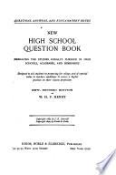 High School Question Book
