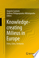 Knowledge creating Milieus in Europe