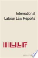International Labour Law Reports   1
