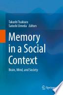 Memory In A Social Context book