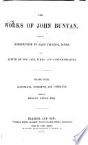 The Works of John Bunyan  Allegorical  figurative  and symbolical Book PDF