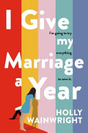 I Give My Marriage a Year Book PDF