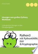 L Sungen Zum Gro En Python3 Workbook