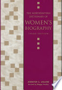The Northeastern Dictionary of Women s Biography