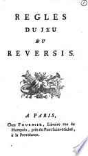 Almanach des jeux, ou Académie portative,