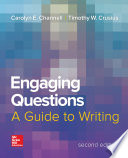 Engaging Questions  A Guide to Writing 2e