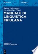 Manuale di linguistica friulana