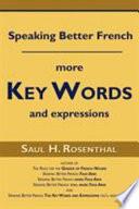 Speaking Better French
