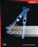 Microsoft    NET Development for Microsoft Office