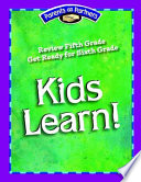 Kids Learn! The Away From School Gap In Instruction With