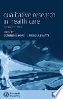Qualitative Research in Health Care