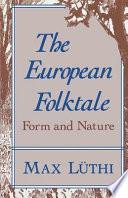 illustration du livre The European Folktale