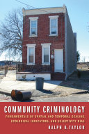 Community Criminology