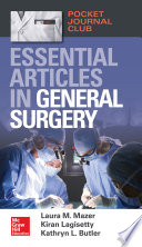 Pocket Journal Club  Essential Articles in General Surgery