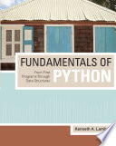 Fundamentals Of Python From First Programs Through Data Structures