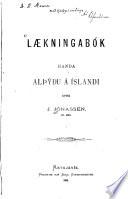 Laekningabók handa alpydu á Íslandi