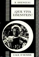 Book Que viva Eisenstein!