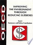 SET Improving the Environment through Reducing Subsidies Part I and II + Pdf/ePub eBook