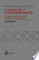A Discipline of Multiprogramming
