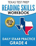 Texas Test Prep Reading Skills Workbook Daily Staar Practice Grade 4