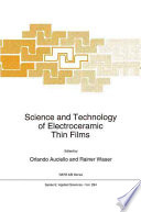 Science and Technology of Electroceramic Thin Films