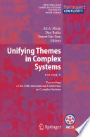 Unifying Themes in Complex Systems   Vol  V
