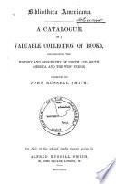 Bibliotheca Americana : ...