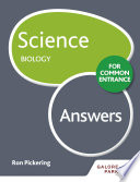 Science for Common Entrance  Biology Answers