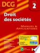 Droit Des Soci T S Dcg 2 Manuel Et Applications