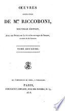 Oeuvres complètes de Mme. Riccoboni: Les lettres de Miladi Juliette Catesby