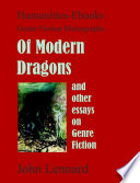 Of Modern Dragons And Other Essays On Genre Fiction  book