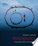 Psychology Concepts And Connections