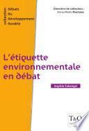 L   tiquette environnementale en d  bat