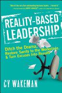 download ebook reality-based leadership pdf epub
