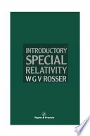 Introductory Special Relativity