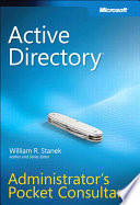 Active Directory Administrator's Pocket Consultant