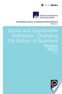 Social and Sustainable Enterprise