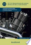 Mantenimiento de motores t  rmicos de dos y cuatro tiempos  TMVG0409