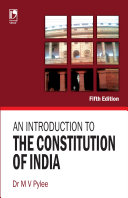 An Introduction To The Constitution Of India  5E