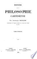 Histoire de la Philosophie Cart  sienne